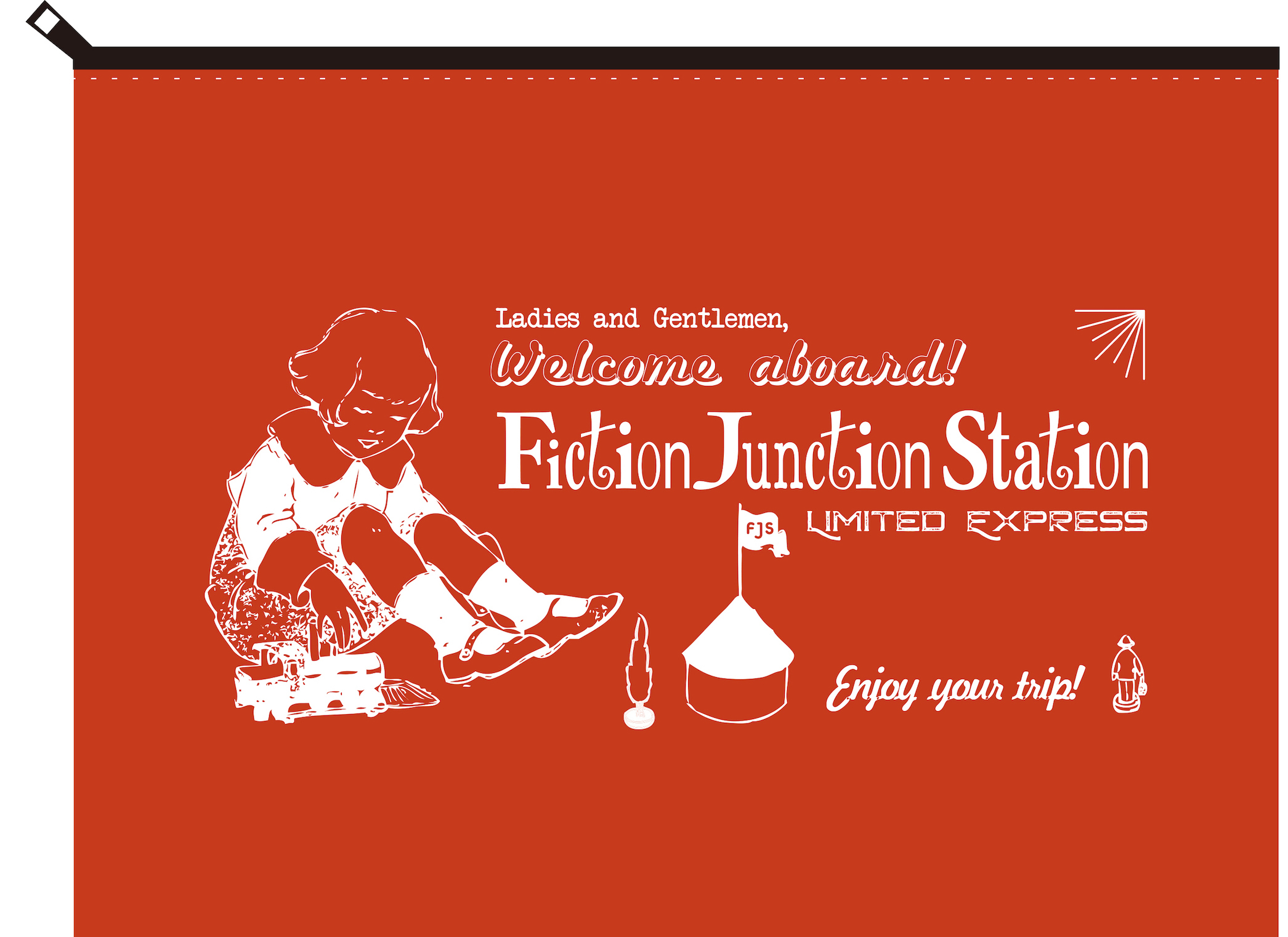 『FictionJunction Station Fan Club Talk Event vol.#1』ポーチ Large