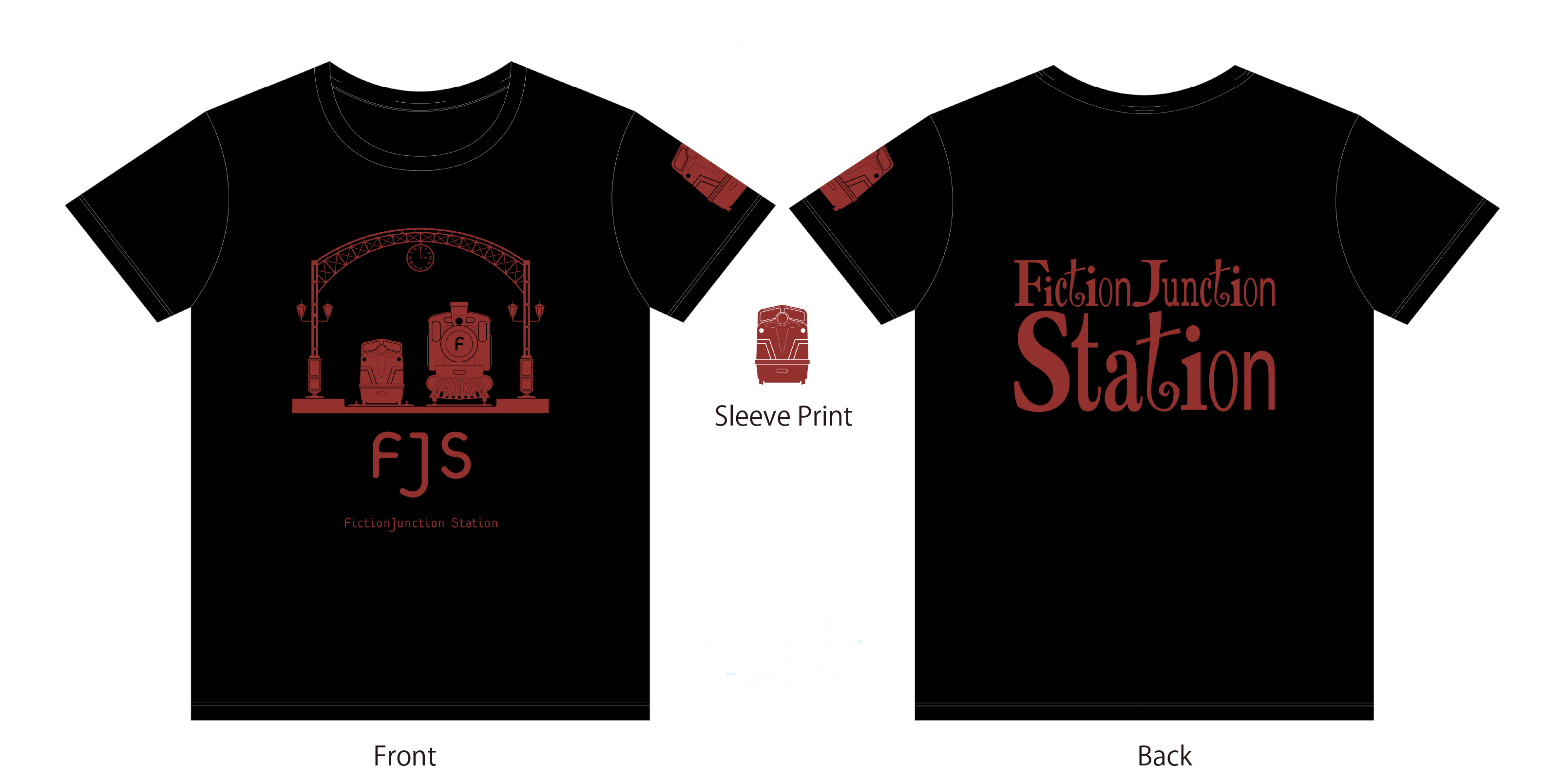 『FictionJunction Station Fan Club Talk Event vol.#1』FJS Tシャツ