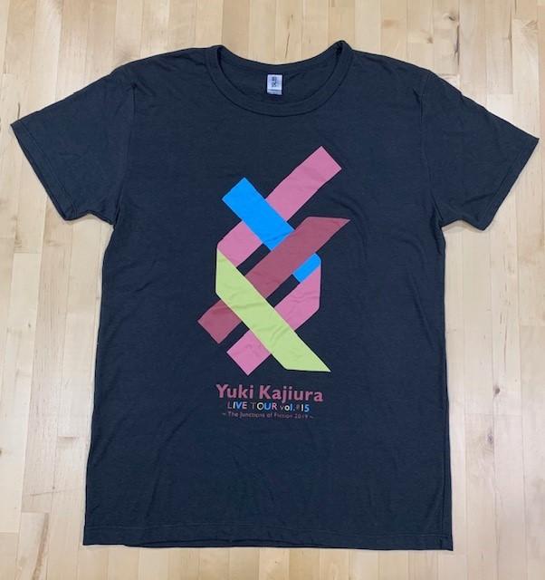『Yuki Kajiura LIVE TOUR vol.#15 』Tシャツ[Hall ver.] (BodyColor:Black)