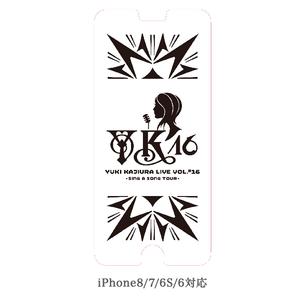 『YKL#16 ~Sing a Song Tour~』Goods 強化ガラスフィルム [iPhoneSE(第2世代)/8/7/6s/6 対応]
