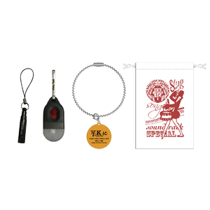 『YKL#16 ~Sing a Song Tour~』Goods 笛・ライト・ワイヤーキーホルダーセット